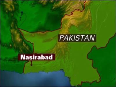 نصیر آباد : نیٹو کنٹینر پر فائرنگ،ڈرائیور جاں بحق ،کلینر زخمی