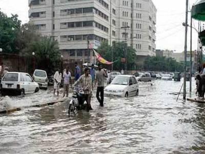 موسلا دھار بارش سے شہر کا موسم خوشگوار ہوگیا