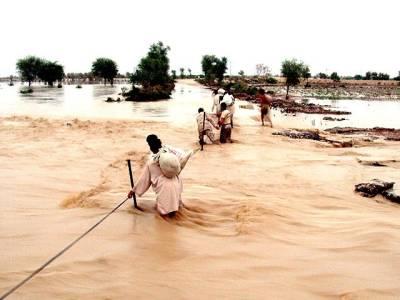 سرگودھا: دریائے جہلم میں سیلاب کے پیش نظر دیہات خالی کروا لئے گئے