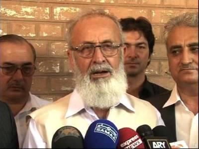 طالبان سے رہائی پانیوالے پروفیسر اجمل نے عہدے کا چارج دوبارہ سنبھال لیا