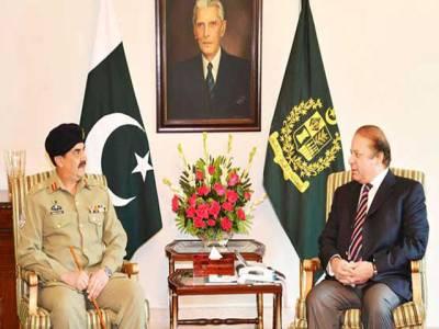 وزیر اعظم ، آرمی چیف کے درمیان اہم ملاقات جاری