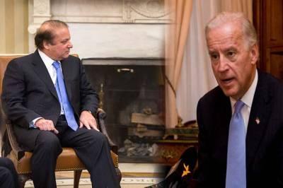 وزیر اعظم نواز شریف کی امریکہ کے نائب صدر سے ملاقات