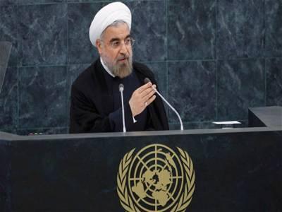 مغرب کی غلطیوں سے مشرق وسطی دہشت گردوں کی جنت بن گیا : ایرانی صدر