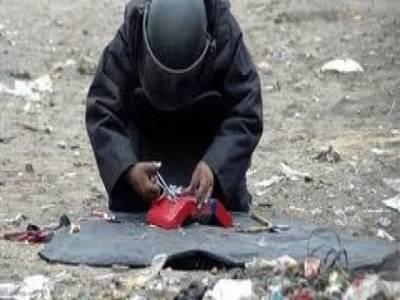 دہشتگری کا منصوبہ ناکام ،پچیس کلوبرآمد وزنی بم ناکارہ بنا دیا گیا