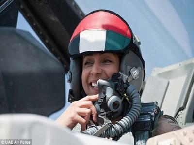 داعش پر بمباری کرنے و الی خاتون پائلٹ نئی مشکل میں گرفتار