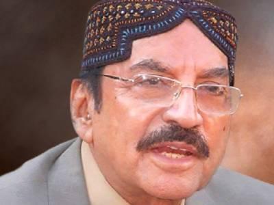 پی ٹی آئی کا لاڑکانہ جلسہ ،قائم علی شاہ نے لوگوں کی ایڈوانس تعداد بتادی