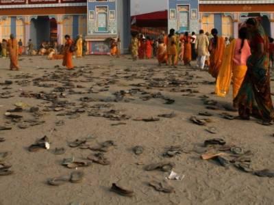 بھارت میں مذہبی رسومات کے دوران بھگدڑ، 32افراد جاں بحق