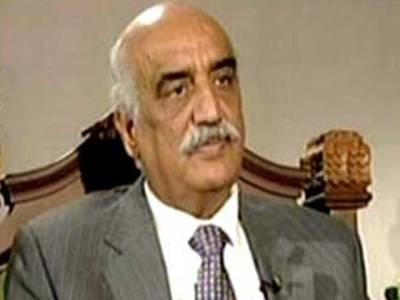 عمران خان کو وزیر اعظم بننے کی خواہش تھی تو مجھے بتاتے :خورشید شاہ