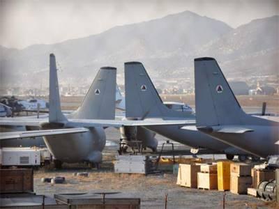 کابل ہوائی اڈے پر کھڑے 16 امریکی طیارے سکریپ میں تبدیل ہوگئے