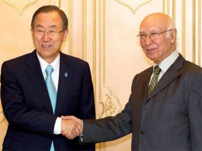 بھارتی جارحیت ، مشیر خارجہ کا اقوام متحدہ کے سیکریٹری جنرل کو خط