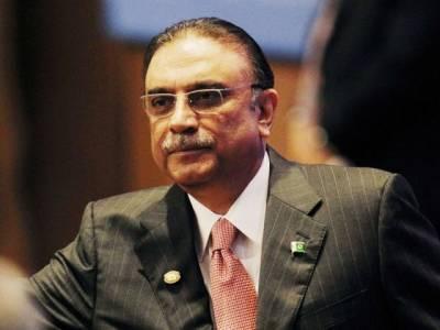 آصف زرداری نے کراچی واپس جانے کا فیصلہ ملتوی کر دیا