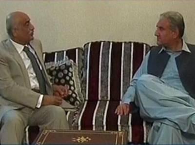 چیف الیکشن کمشنرتقرری معاملہ،شاہ محموداورخورشیدشاہ کی ملاقات میں مشاورت جاری