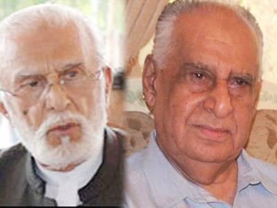 مسلم لیگ ن کے ناراض رہنماءذوالفقار کھوسہ اور غوث علی شاہ کے درمیان اہم ملاقات