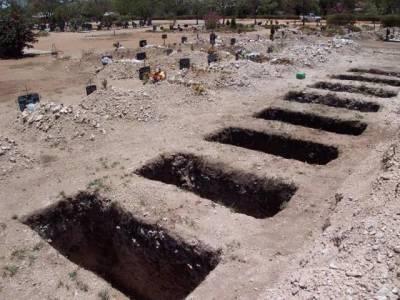 قبر سے نومولود کی لاشیں نکالنے والے گروہ کا سرغنہ گرفتار