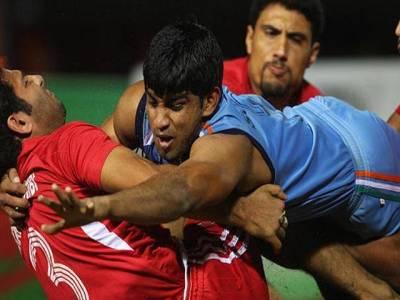 ایشین بیچ گیمز کبڈی ایونٹ میں پاکستا ن بھارت کو شکست دے کر فائنل میں پہنچ گیا