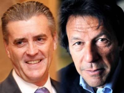 امریکی سفیر رچرڈ اولسن کی عمران خان سے ملاقات