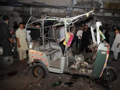 کورنگی کراسنگ کے قریب دھماکہ ، ایک شخص جاں بحق