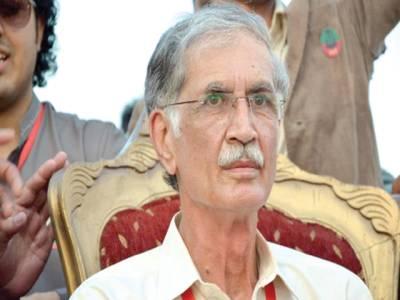 نثار نے کہا ،لگتا نہیں نواز شریف حکومت کرنے آئے ہیں، دھرنا جاری رکھیں: پرویز خٹک