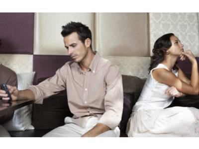 موبائل فون کے ازدواجی زندگی پر خوفناک اثرات ،تحقیق نے بتا دیا