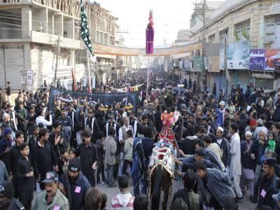 چہلم شہدائے کربلا، ملک بھر سے جلوس برآمد ہونا شروع، سیکیورٹی ہائی الرٹ