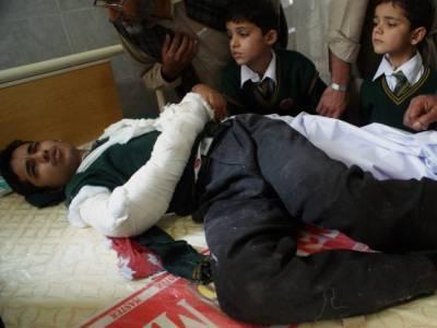 کلیئرنس کے بعد آرمی پبلک سکول میں ایک اور دھماکہ
