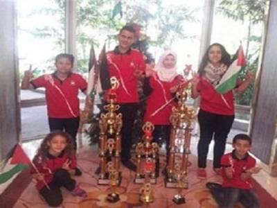 14سالہ فلسطینی بچی نے عالم مقابلہ جیت لیا ،دنیا کو حیران کر دیا