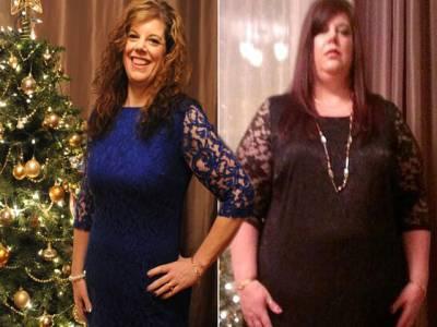 ایک سال میں 57 کلو وزن کیسے کم کیا ،خاتون نے بتا دیا