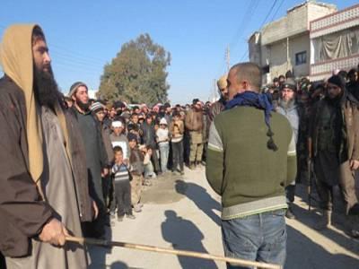 چھوٹی سی غلطی پر داعش کی جانب سے شہری کو خوفناک سزا