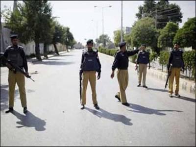 پولیس کی کارروائی ،گاڑی سے بھاری تعداد میں بارودی مواد برآمد،دو ملزمان گرفتار