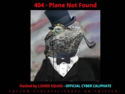 ملائیشین ایئرلائن کی ویب سائیٹ ہیک ، اہم راز جلد ہی شیئرکریں گے:ہیکرز کا پیغام