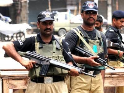 کراچی میں پولیس کی کاروائی کے دوران 5 دہشت گرد ہلاک