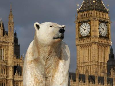 خوفناک برفانی ریچھ لندن میں سرعام کیسے گھومنے لگا؟