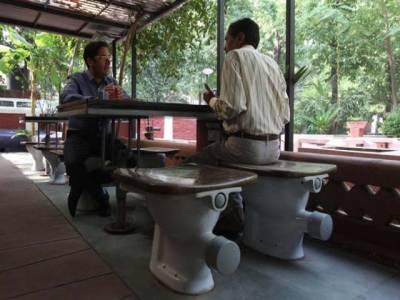 بھارت میں ''ٹوائلٹ کیفے'' متعارف کرادیا گیا