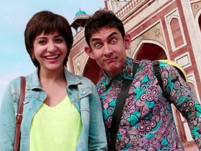 عامر خان اور انوشکا شرمامقبول ترین بھارتی اداکار اور اداکارہ قرار