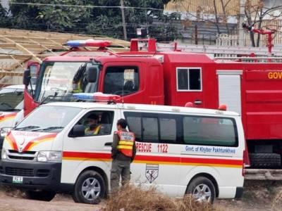 پشاور کے گھر میں سلنڈر پھٹ گیا ، 3 افراد زخمی