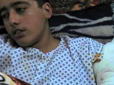 سانحہ پشاور میں زخمی ہونے والے احمد نواز کو برطانوی ویزہ مل گیا