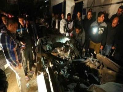 فلسطین میں حماس رہنماءکی گاڑی پر بم حملہ ، دوٹکڑے ہوگئی