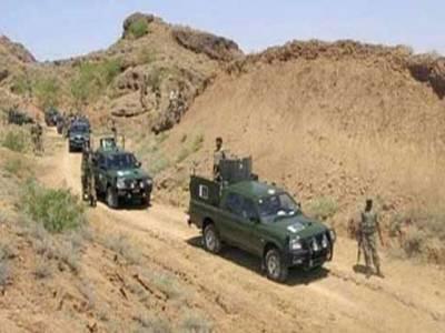 سیکیورٹی فورسز کے ساتھ جھڑپ میں سات دہشت گرد ہلاک