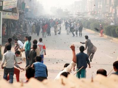 ناولٹی پل فائرنگ واقعہ،تحریک انصاف کے کارکنوں کا گرفتاریاں دینے کا فیصلہ