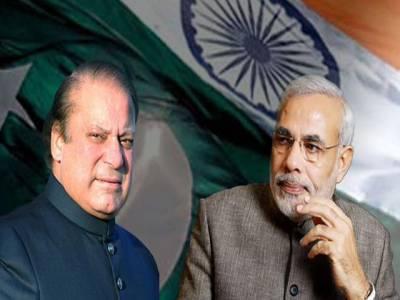 بھارتی وزیر اعظم نریندر مودی کاوزیراعظم نواز شریف کو ٹیلیفون ،اہم امور پر تبادلہ خیال