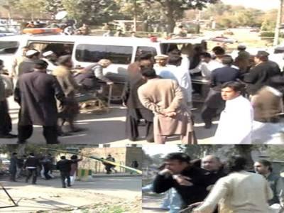 حیات آباد کی امام بارگاہ میں دھماکے اور فائرنگ،20افراد شہید، 50 سے زائد زخمی