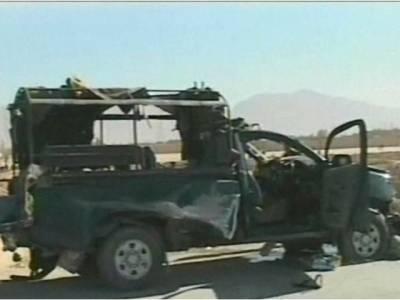 چیف جسٹس بلوچستان ہائیکورٹ کی گاڑی کے قریب دھماکہ