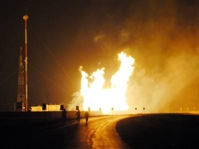 پیر کوہ گیس فیلڈ سے سوئی جانے والی گیس پائپ لائن دھماکے سے تباہ