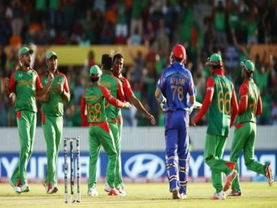 ورلڈکپ2015،بنگلہ دیش نے افغانستان کو 105رنز سے شکست دیدی