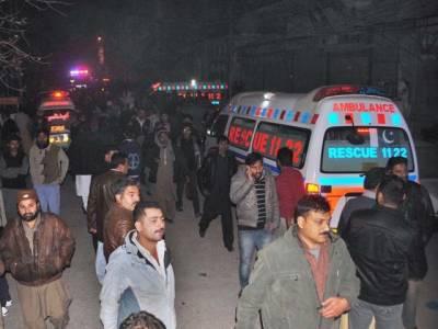 وفاقی دارالحکومت میں دھماکے کے بعد علاقے کی بجلی بند ، امدادی کاروائیوں میں مشکلات