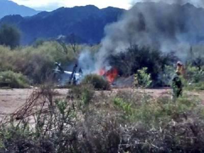 رئیلٹی شو کی شوٹنگ کے دوران دو ہیلی کاپٹرآپس میں ٹکرانے سے تباہ،10افراد جاں بحق