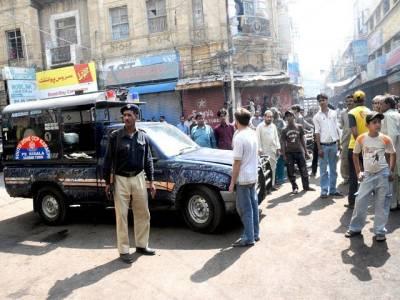 شاہین کمپلیکس کے قریب فائرنگ ، پولیس اہلکار جاں بحق