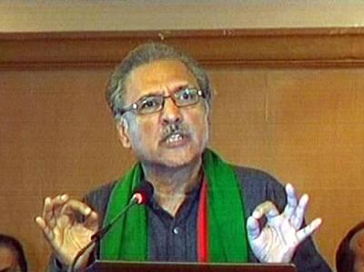 عارف علوی کا کریم آباد میں علامتی دھرنا، کل جو ہوا، شروعات ہم نے نہیں کی: پی ٹی آئی رہنما