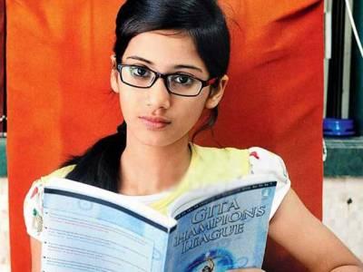 ہندو مذہب کا وسیع علم ،مسلمان لڑکی نے تمام ہندوؤں کو شرمندہ کر دیا،مات دے دی