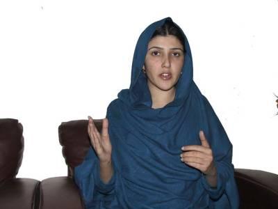 اگر سپیکر نے تحریک انصاف کے استعفیٰ منظور نہیں کیا تو اس میں پارٹی کا کوئی قصور نہیں : عائشہ گلالئی